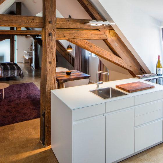Loblocher Hof - Ferienwohnung 1 - Küche
