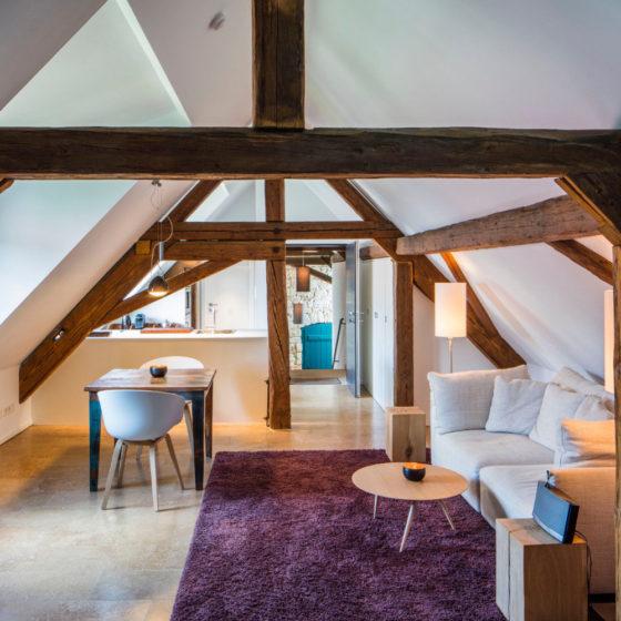 Loblocher Hof - Ferienwohnung 1 - Wohnzimmer