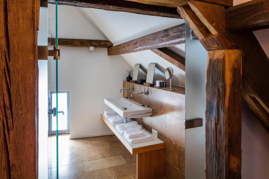 Loblocher Hof - Ferienwohnung 1 - Bad