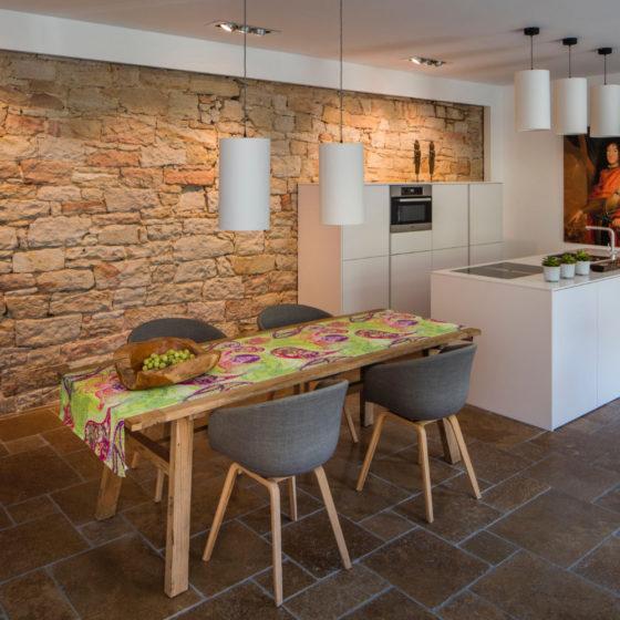 Loblocher Hof - Ferienwohnung 2 - Esszimmer