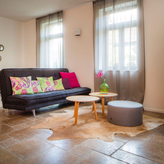 Loblocher Hof - Ferienwohnung 2 - Wohnzimmer