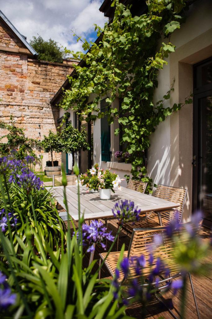 Loblocher Hof - Ferienwohnung 2 - Terrasse