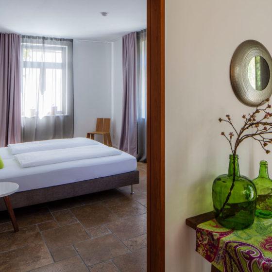 Loblocher Hof - Ferienwohnung 2 - Schlafzimmer