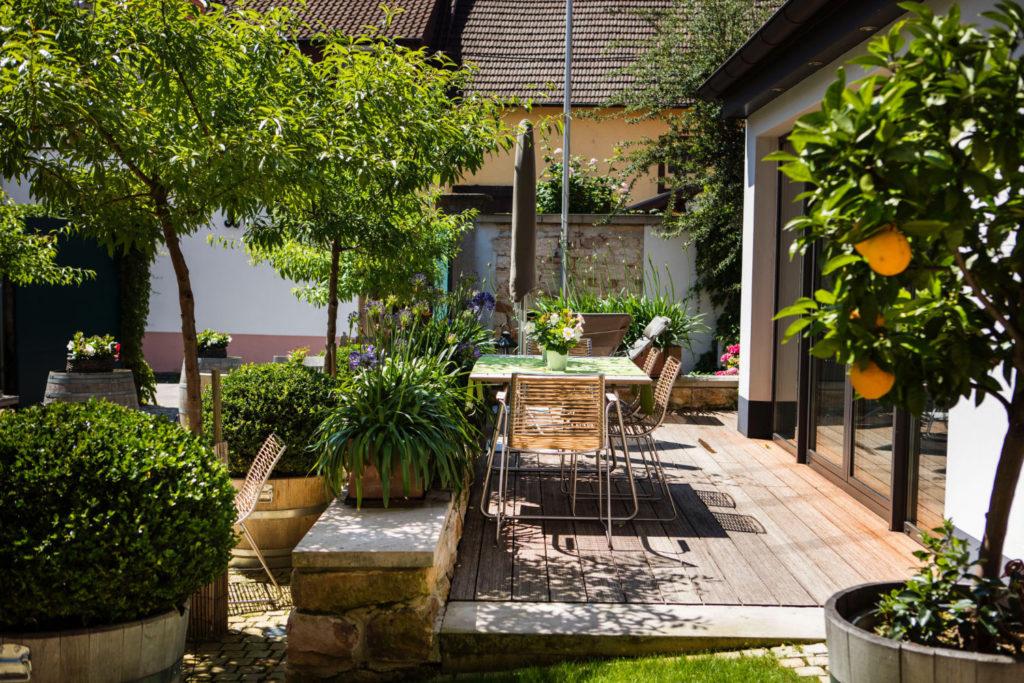 Loblocher Hof - Ferienwohnung 3 - Terrasse