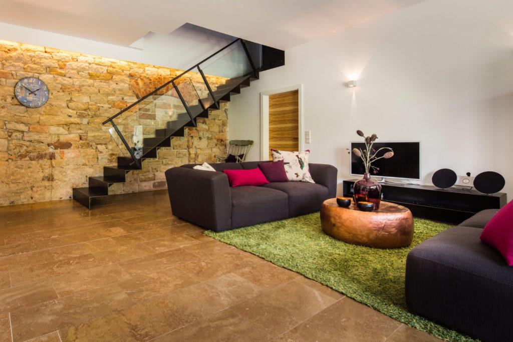 Loblocher Hof - Ferienwohnung 3 - Wohnzimmer