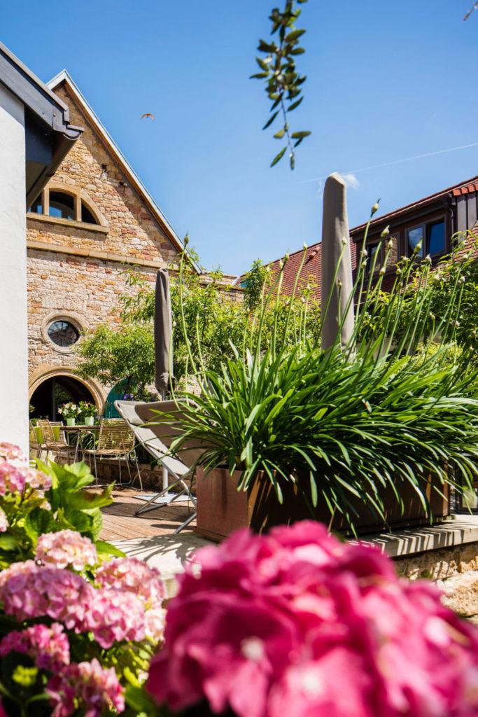 Loblocher Hof - Ferienwohnung 3 - Garten