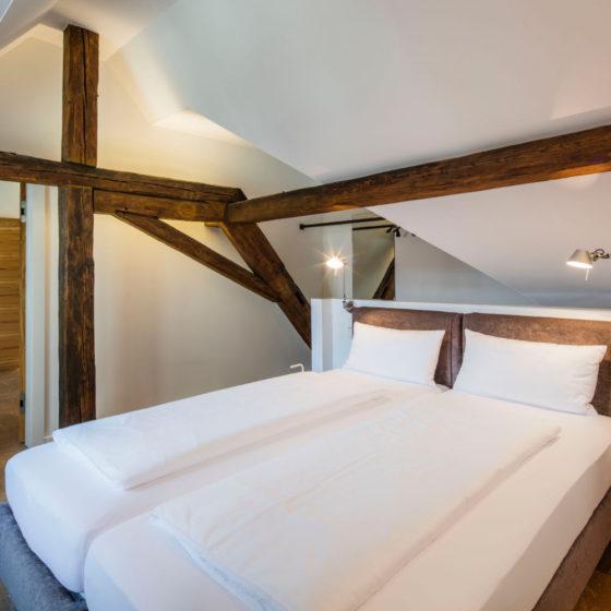 Loblocher Hof - Ferienwohnung 3 - Schlafzimmer