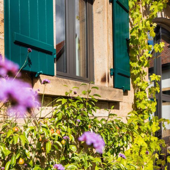 Loblocher Hof - Ferienwohnung 4 - Garten