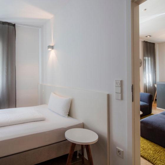 Loblocher Hof - Ferienwohnung 4 - Schlafzimmer