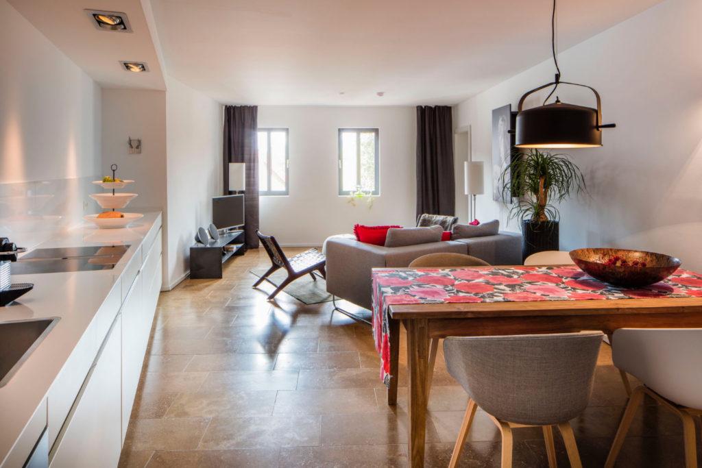 Loblocher Hof - Ferienwohnung 5 - Wohn- & Essbereich
