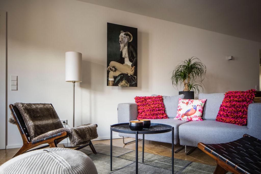 Loblocher Hof - Ferienwohnung 5 - Wohnzimmer