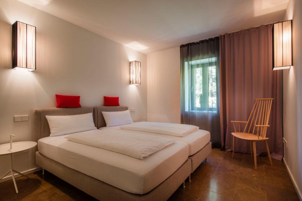 Loblocher Hof - Ferienwohnung 5 - Schlafzimmer