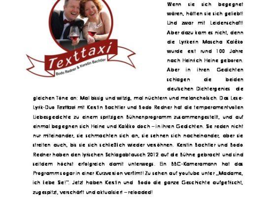 Vorschau Infoflyer Texttaxi